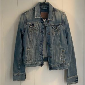 Abercrombie Thick Jean Jacket